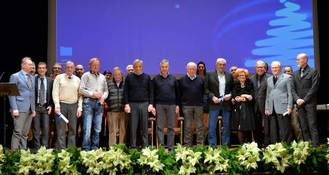 La premiazione di Confartigianato presso il Teatro Comunale di Thiene