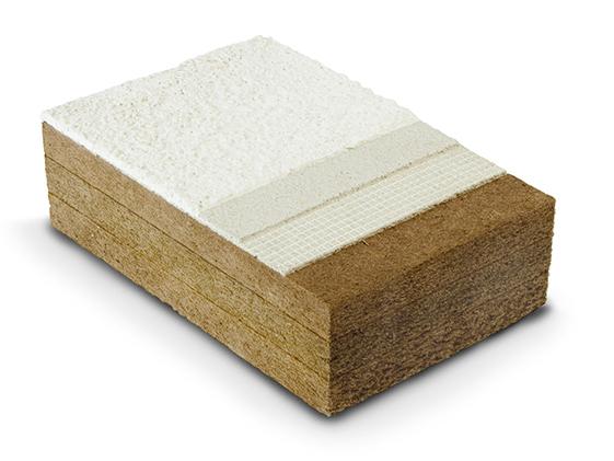 materiali del cappotto fibra di legno