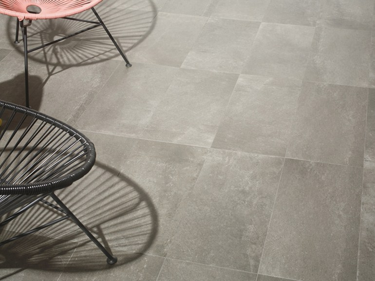Il gr s porcellanato effetto cemento usi e applicazioni for Gres effetto cemento